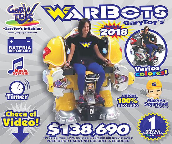 warbots promo