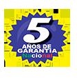 5 años de garantía nacional